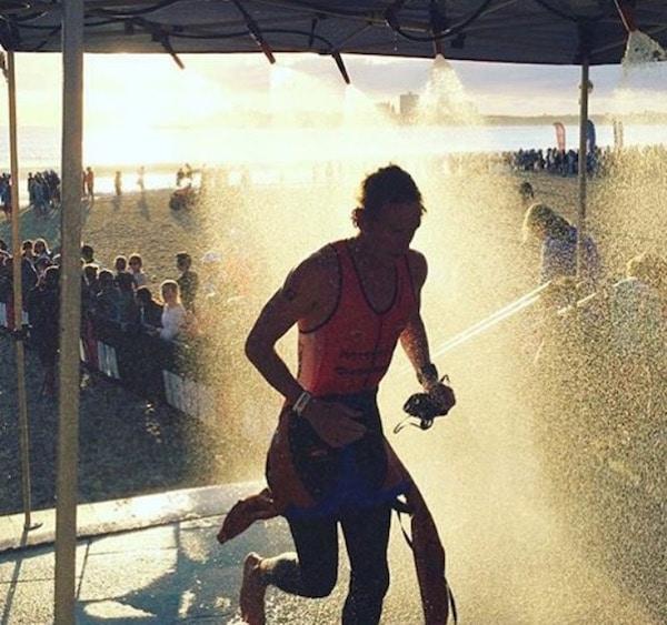 Luke Bell transition from swim